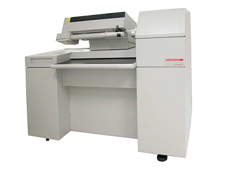 Trommelscanner Linotype Chromagraph 3400